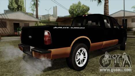 Ford F350 Harley Davidson for GTA San Andreas left view