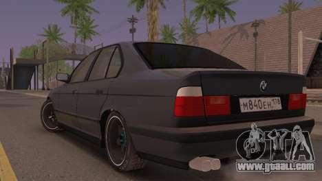 BMW 525i E34 2.0 for GTA San Andreas left view