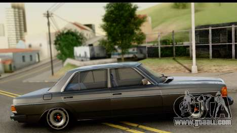 Mercedes-Benz 240 W123 Stance for GTA San Andreas right view