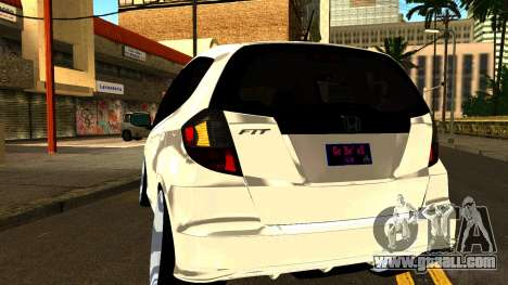 Honda Fit Sport 2009 for GTA San Andreas inner view