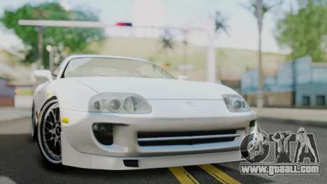 Toyota Supra 1998 FF7 for GTA San Andreas