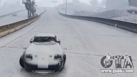 GTA 5 GTA V Online Snow Mod sixth screenshot