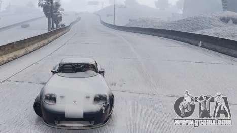 GTA V Online Snow Mod for GTA 5