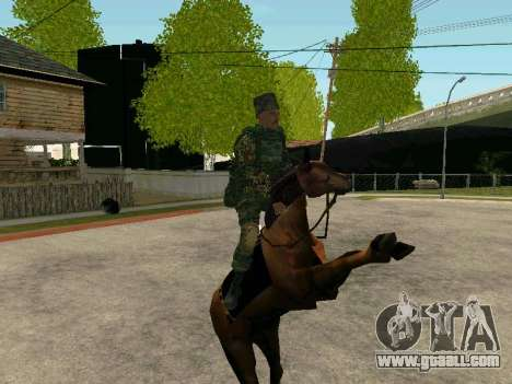 Kuban Cossack for GTA San Andreas eighth screenshot