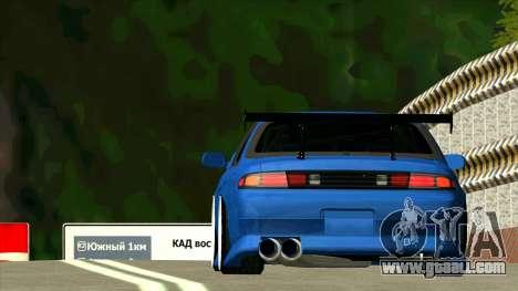 Nissan Silvia S14 Zenki for GTA San Andreas back view
