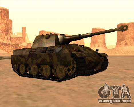 Pz.Kpfw. V Panther II Desert Camo for GTA San Andreas side view