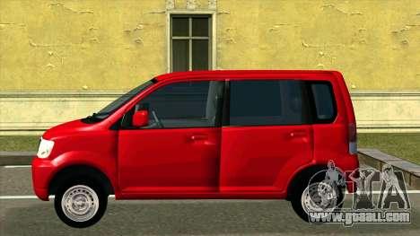 Mitsubishi eK Wagon for GTA San Andreas left view