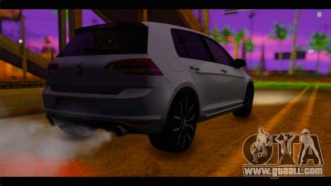 Volkswagen Golf 7 for GTA San Andreas left view