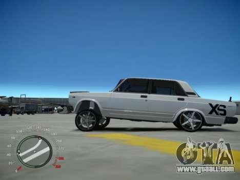 VAZ 2107 Aze for GTA 4 left view