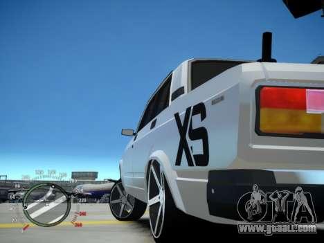 VAZ 2107 Aze for GTA 4 back left view