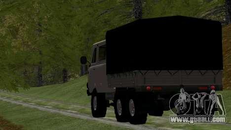 UAZ 39094 6X6 Dream hunter for GTA San Andreas right view