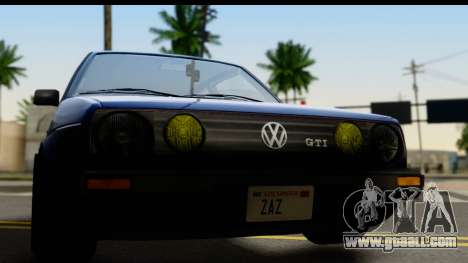 Volkswagen Golf Mk2 for GTA San Andreas back left view