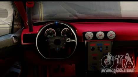 Chevrolet Cobalt SS Mio Itasha for GTA San Andreas inner view