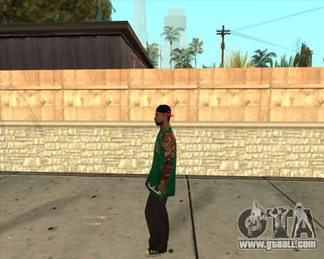 Grove HD for GTA San Andreas third screenshot