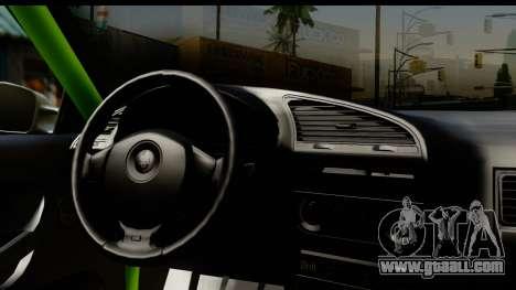 BMW E36 Drift for GTA San Andreas inner view