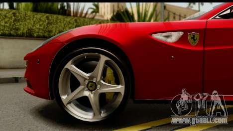 NFS Rivals Ferrari FF for GTA San Andreas back view