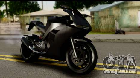 GTA 5 Carbon RS for GTA San Andreas