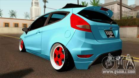 Ford Fiesta 2009 Minty Fresh for GTA San Andreas left view