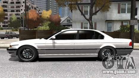 BMW 750i e38 1994 Final for GTA 4 upper view