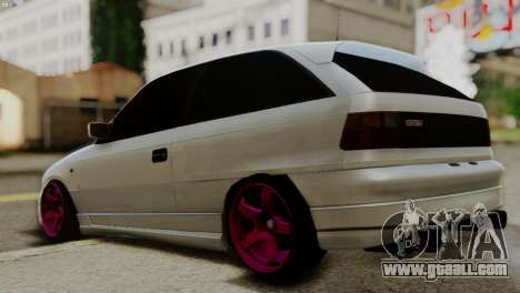 Opel Astra GSI 2.0 for GTA San Andreas left view