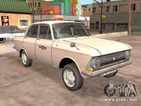 Moskvich 412 Cab for GTA San Andreas