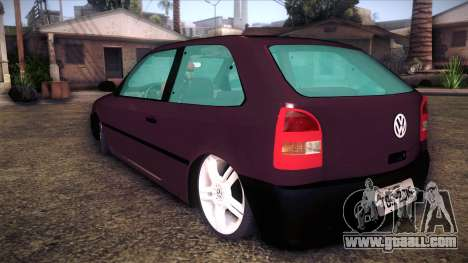 Volkswagen Gol GTI for GTA San Andreas left view