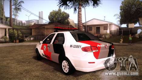 Fiat Siena 2011 for GTA San Andreas left view