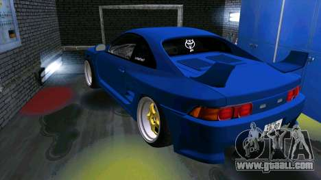 Toyota MR2 for GTA San Andreas inner view