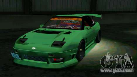 Nissan 180SX for GTA San Andreas back view