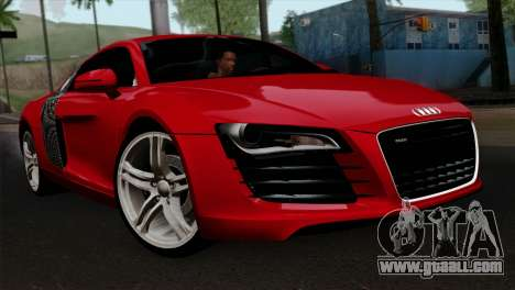 Audi R8 v2 for GTA San Andreas