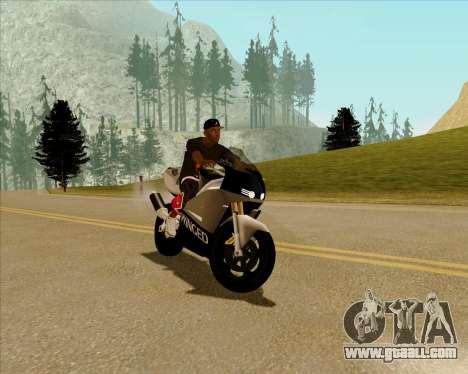 NRG-500 Winged Edition V.2 for GTA San Andreas