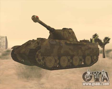 Pz.Kpfw. V Panther II Desert Camo for GTA San Andreas