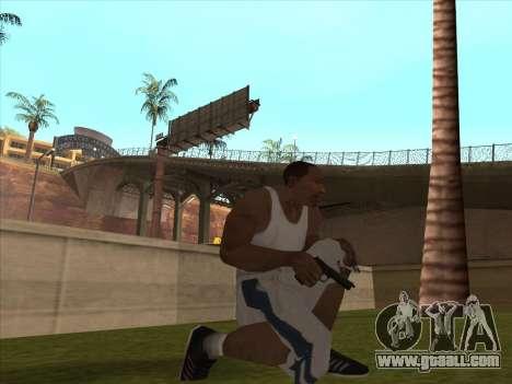 Great Russian guns for GTA San Andreas sixth screenshot