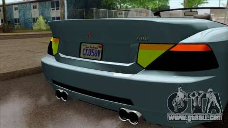 GTA 5 Ubermacht Zion XS Cabrio IVF for GTA San Andreas back view