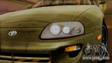 Toyota Supra Turbo (JZA80) 1998 FF7 Edition for GTA San Andreas right view