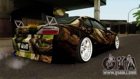 Nissan Silvia S15 Hunter for GTA San Andreas left view