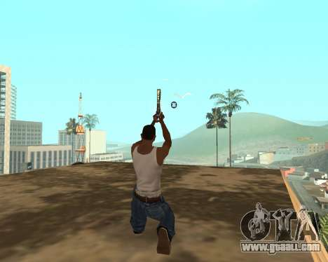 Green Pack Asiimov CS:GO for GTA San Andreas ninth screenshot