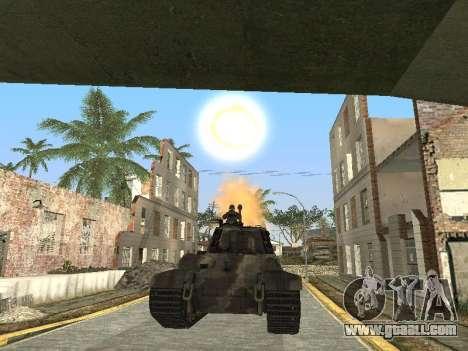 Panzerkampfwagen Tiger II for GTA San Andreas engine