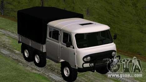 UAZ 39094 6X6 Dream hunter for GTA San Andreas