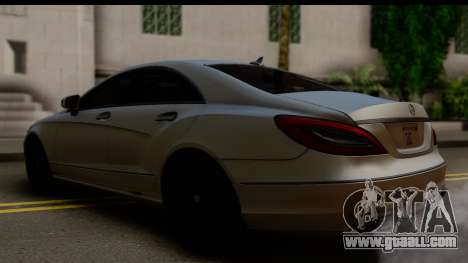 Mercedes-Benz CLS 350 2011 for GTA San Andreas left view