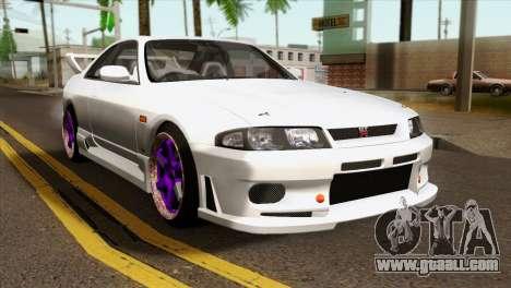 Nissan Skyline R33 Drift JDM for GTA San Andreas