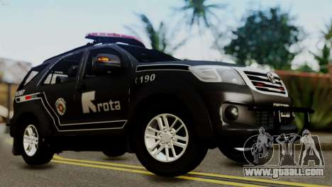 Toyota Hilux SW4 2014 ROTA for GTA San Andreas