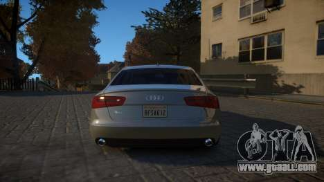 Audi A6 2012 v1.0 for GTA 4 right view