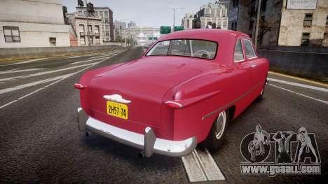 Ford Business 1949 v2.2 for GTA 4 back left view