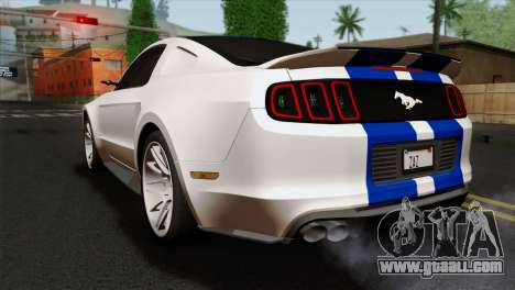 Ford Shelby 2014 for GTA San Andreas left view