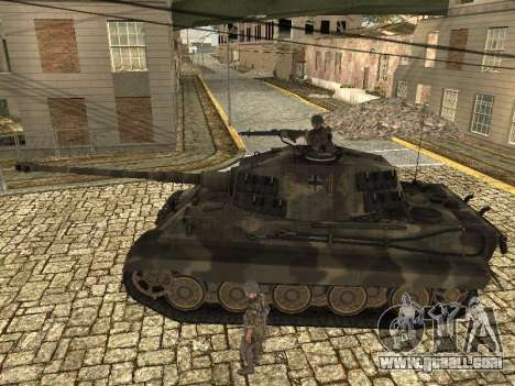 Panzerkampfwagen Tiger II for GTA San Andreas