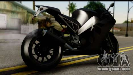 GTA 5 Carbon RS for GTA San Andreas left view