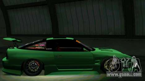 Nissan 180SX for GTA San Andreas upper view