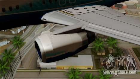 Boeing B737-800 Pilot Life Boeing Merge for GTA San Andreas right view