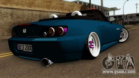 Honda S2000 for GTA San Andreas left view